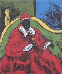cardinale by tano festa