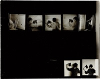 untitled (contact sheet) by francesca woodman