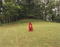 untitled (little red riding hood) (from if we believe in theory) by xaviera simmons