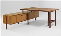 junior officer's desk by pierre jeanneret