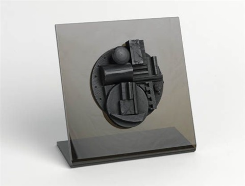 collegiate school wood multiple by louise nevelson