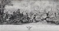 episodio de la batalla de alejandr magno (after le brun) by pierre picault