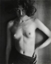 nude by edward weston