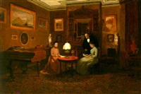 an evening of reading by charles fisher