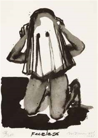 faceless by marlene dumas