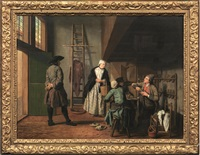 la bottega del calzolaio by jan josef horemans the younger
