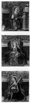 female saint by agreda master
