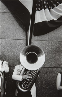 chicago-political rally by robert frank