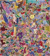 tutto (everything) by alighiero boetti