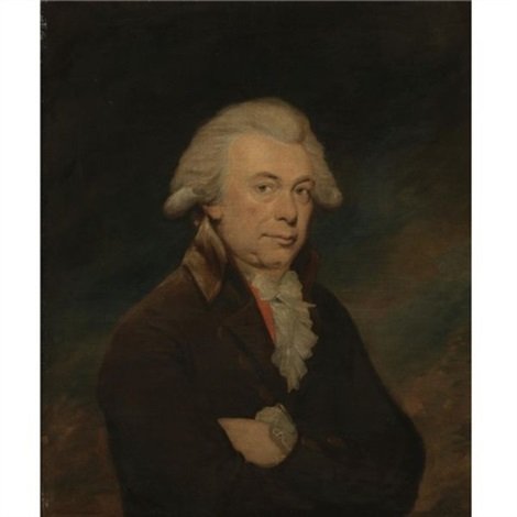 portrait of a man by lemuel francis abbott