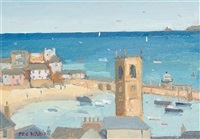 view of st ives (+ another; pair) by eric ward
