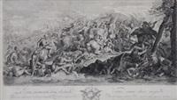 episodio de la batalla de alejandro magno (after le brun) by pierre picault