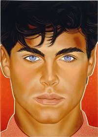 portrait of god (after richard bernstein) by richard phillips