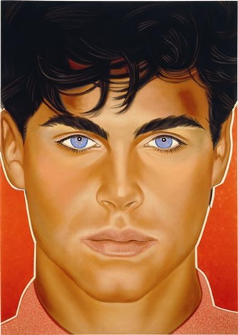 portrait of god (after richard bernstein) by <b>richard phillips</b> - richard-phillips-portrait-of-god-(after-richard-bernstein)