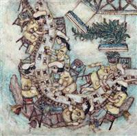 tütün saran kadınlar by nuri abac
