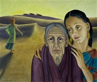 ruth, naomi and orpah by kyra markham