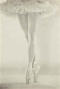 the legs of danilova, new york by erwin blumenfeld