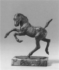 springendes pony by hildegard domizlaff