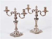 candelabra (pair) by c.j. vander ltd