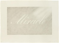 miracle by ed ruscha