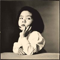 japanese girl, new york by irving penn
