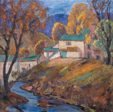 near pineville in october by fern isabel coppedge