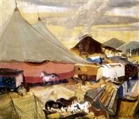 vándorcirkusz (travelling circus) by endre vadász