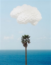 brain cloud by john baldessari