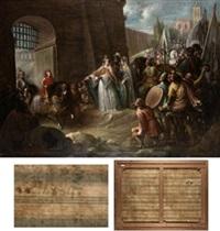 entrada en segovia del rey niño d. fernando by leonardo alenza y nieto
