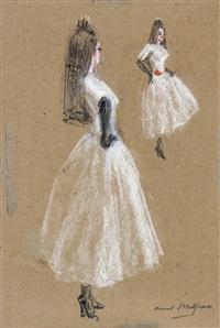 flamenco dancer by raoul millais