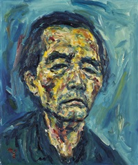 self-portrait by kwun suncheol