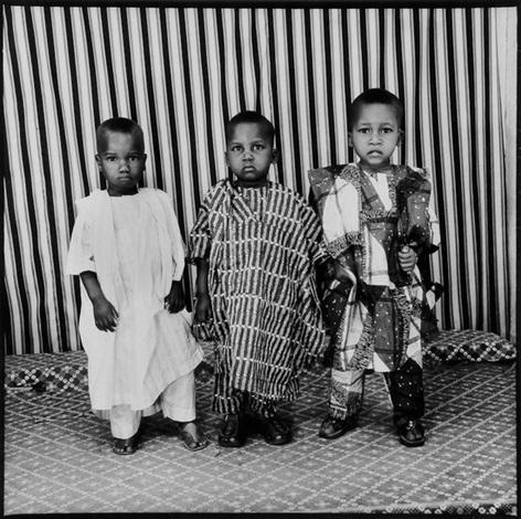 les trois enfants by malick sidibé