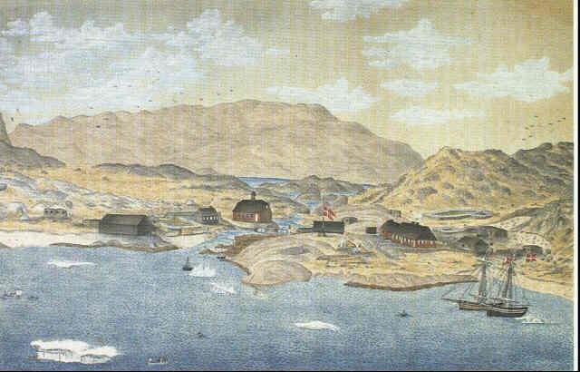 parti fra 'julianehaab i gronland' by jacob andreas augustinus aroe