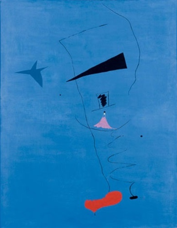 blue star by joan miró