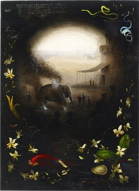 guilty elephant by walton ford