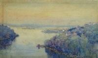 sydney harbour by theodore penleigh boyd