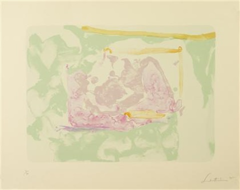 reflections iii by helen frankenthaler