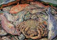 bodegón de peces by jose aguiar garcia