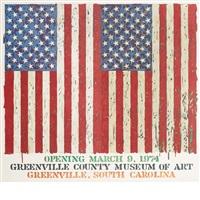 greenville county museum of art by jasper johns