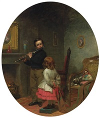 the young flautist by seymour joseph guy