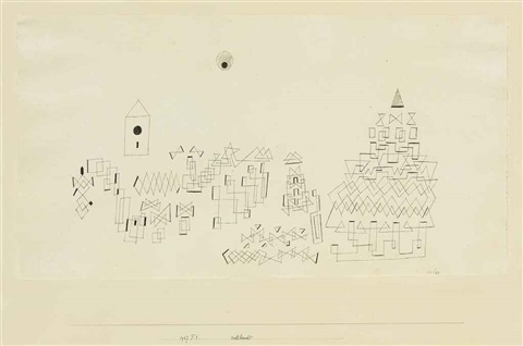 vollbracht by paul klee