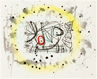 pl.5 from 'fissures' by joan miró