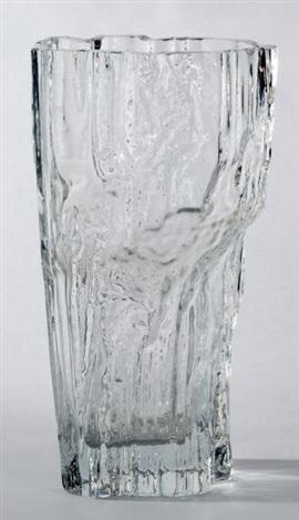 vase modèle iceberg by tapio wirkkala