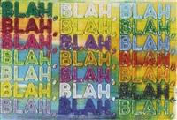 blah by mel bochner