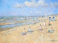 a la plage by arie van noort