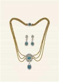 collier und ohrhänger (set of 3) by juwelier vitzthum (co.)