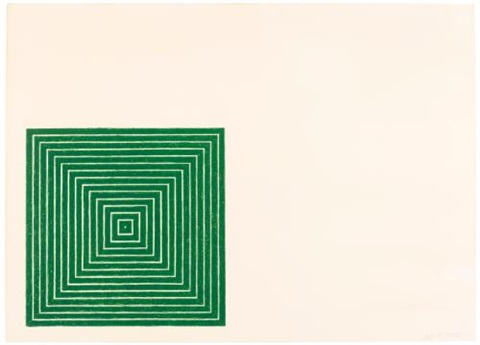 island no. 10 by frank stella