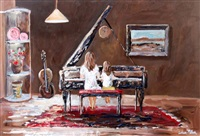 learning piano by lorna miller