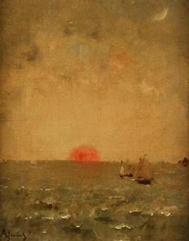 sunrise by alfred stevens