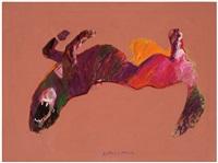 upside down dog by fritz scholder